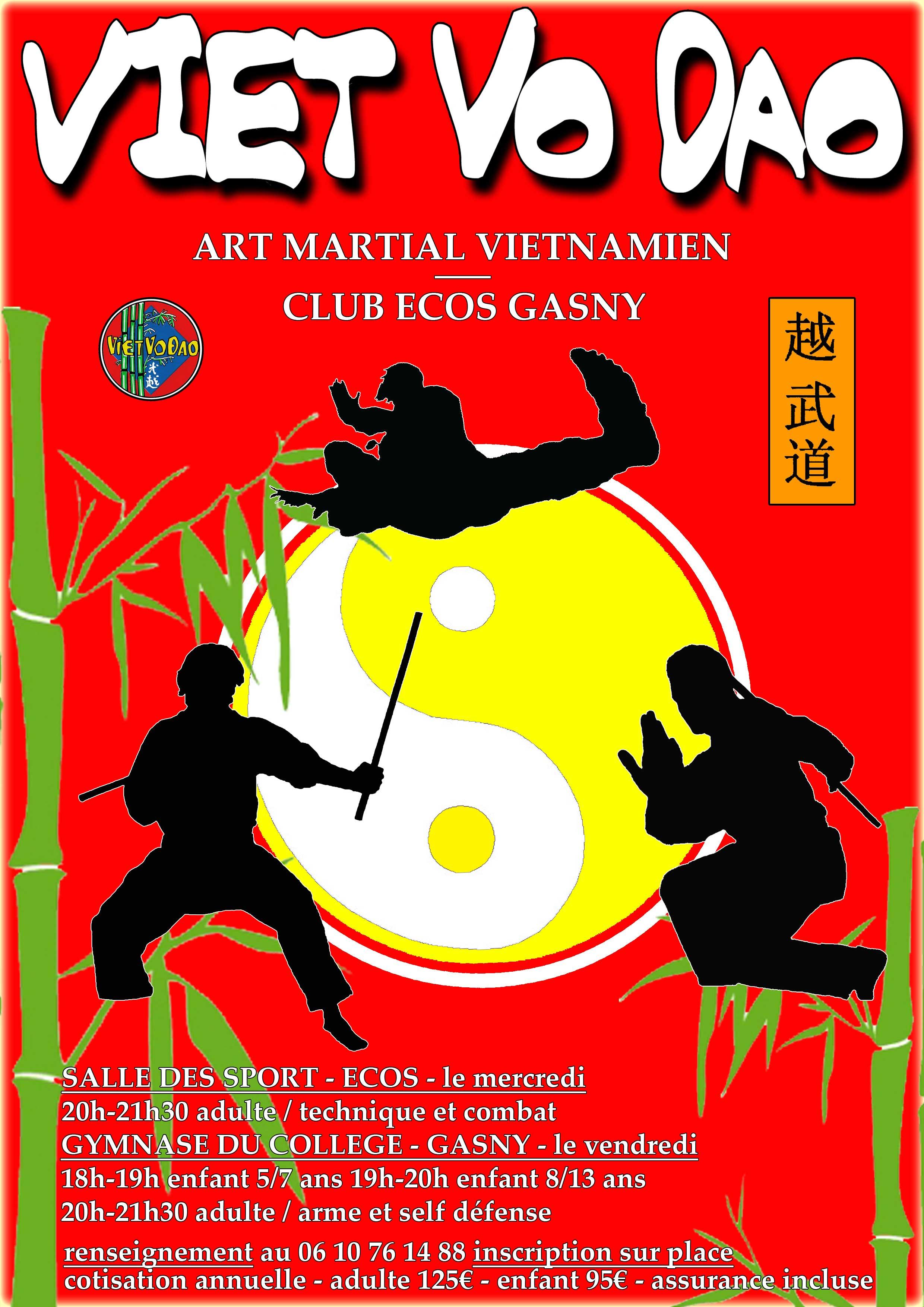 Viet vo dao ecos gasny archive du blog saison 2015 2016 for Arts martiaux pdf